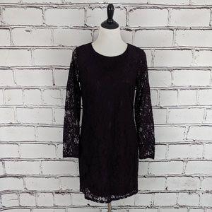 {Apt. 9} Plum Lace Dress